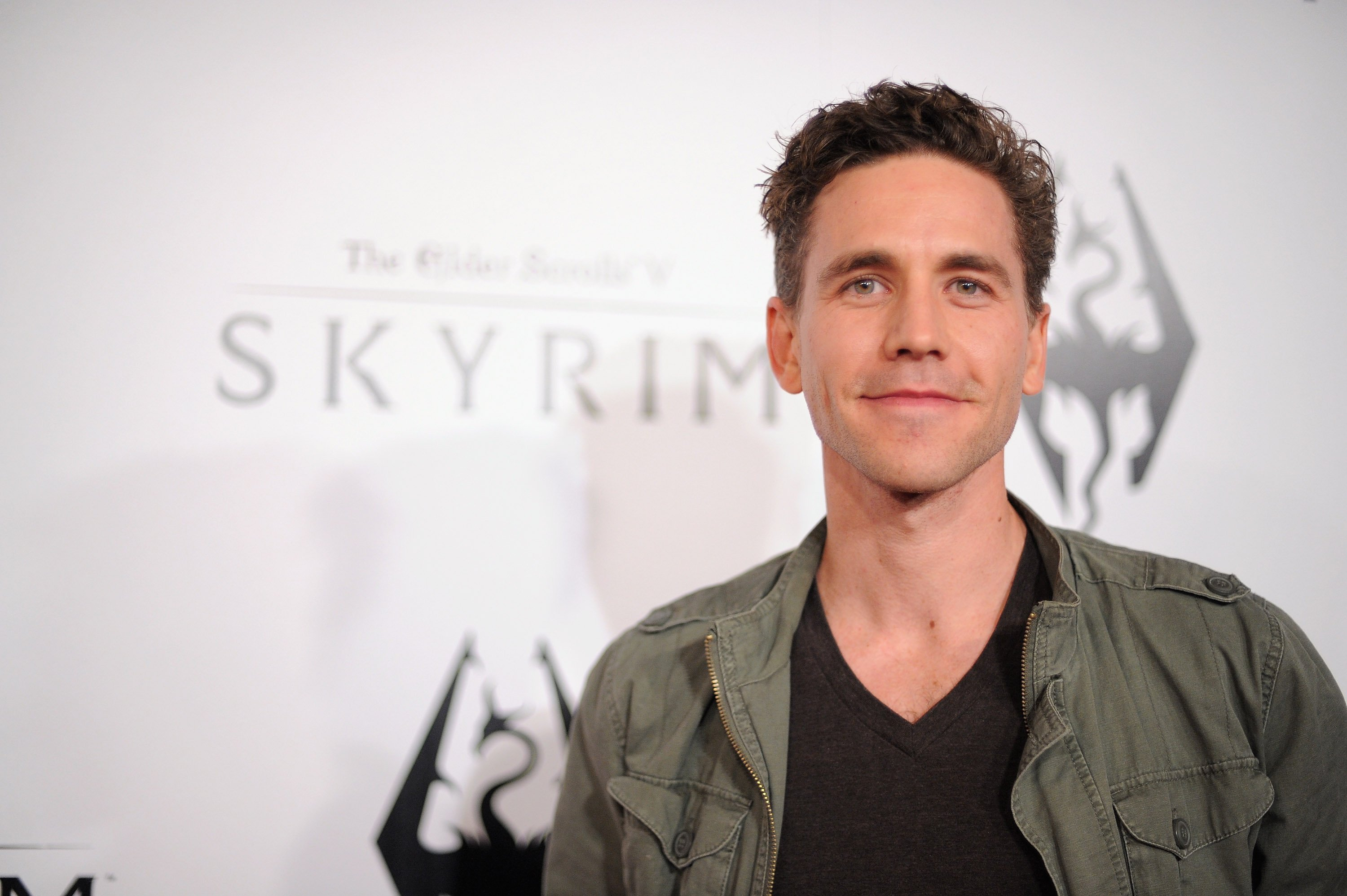Brian Dietzen attending the official launch party for The Elder Scrolls V: Skyrim. Source | Photo: Getty Images