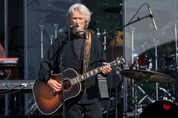 Kris Kristofferson at Hyde Park on July 07, 2019 in London, England. | Photo: Getty Images