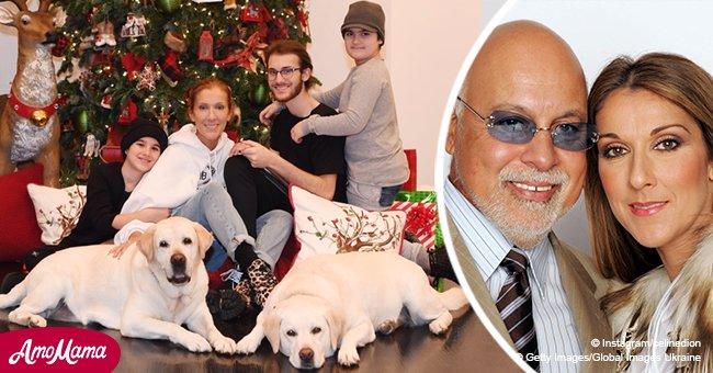 Une magnifique photo où l'on voit Céline Dion avec ses fils, 3 ans après la mort de son mari