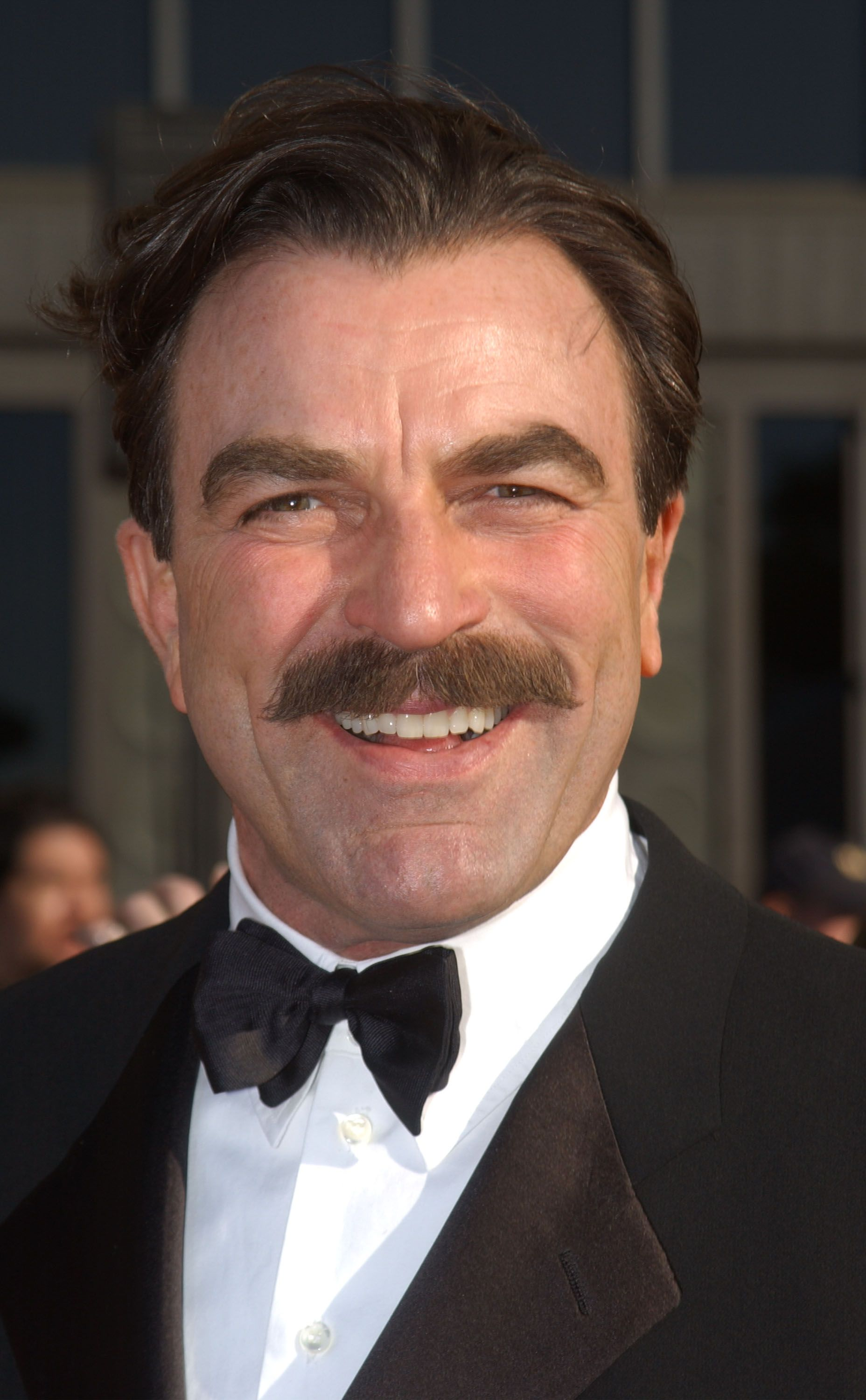 Tom Selleck during the 8th Annual Screen Actors Guild Awards at the Shrine Auditorium March 10, 2002. | Source: Getty Images