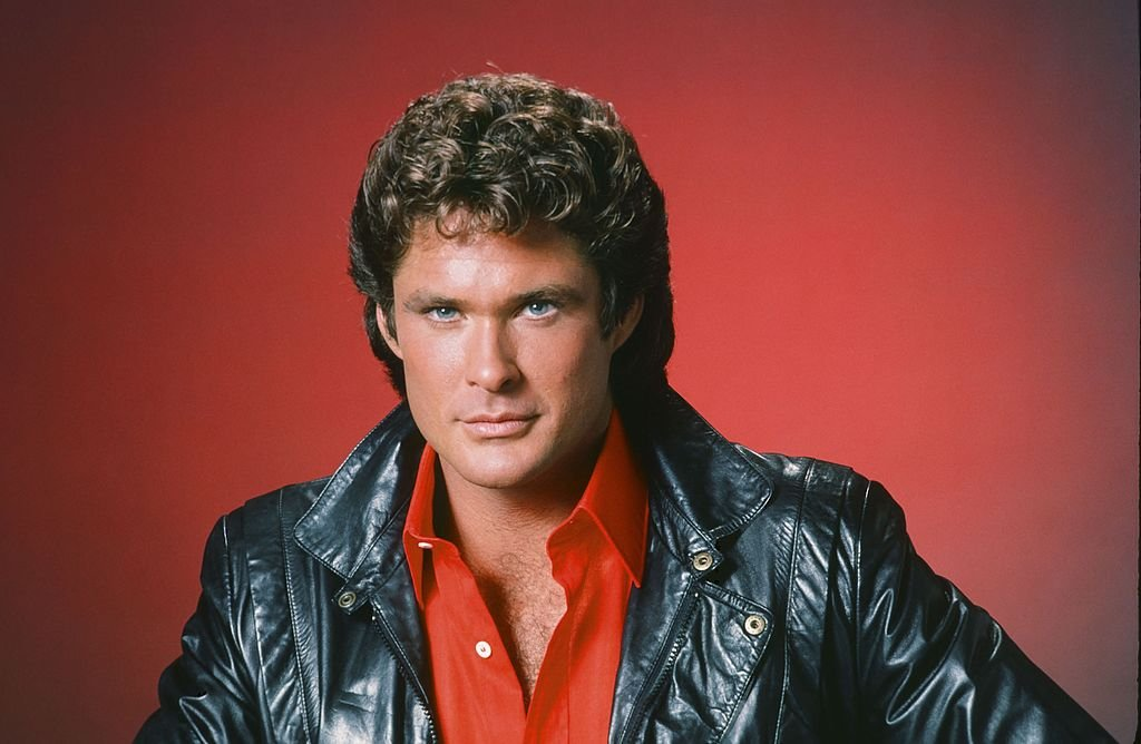 David Hasselhoff als Michael Knight | Quelle: Getty Images