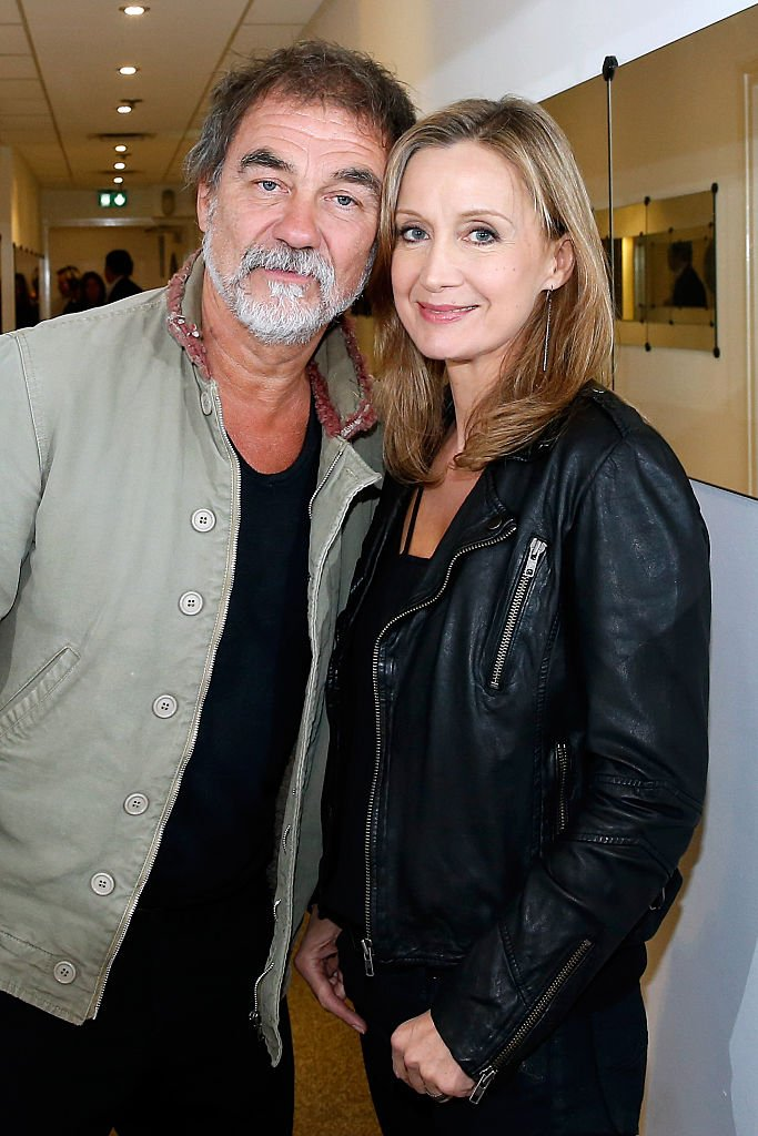 Olivier Marchal et Catherine Marchal. | Photo : Getty Images
