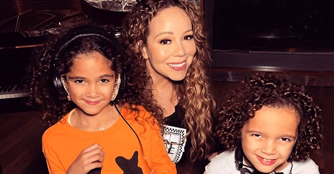 Mariah Carey Spends Quality Time with Her Curly-Haired Twins Moroccan and Monroe in Matching Outfits in New Video