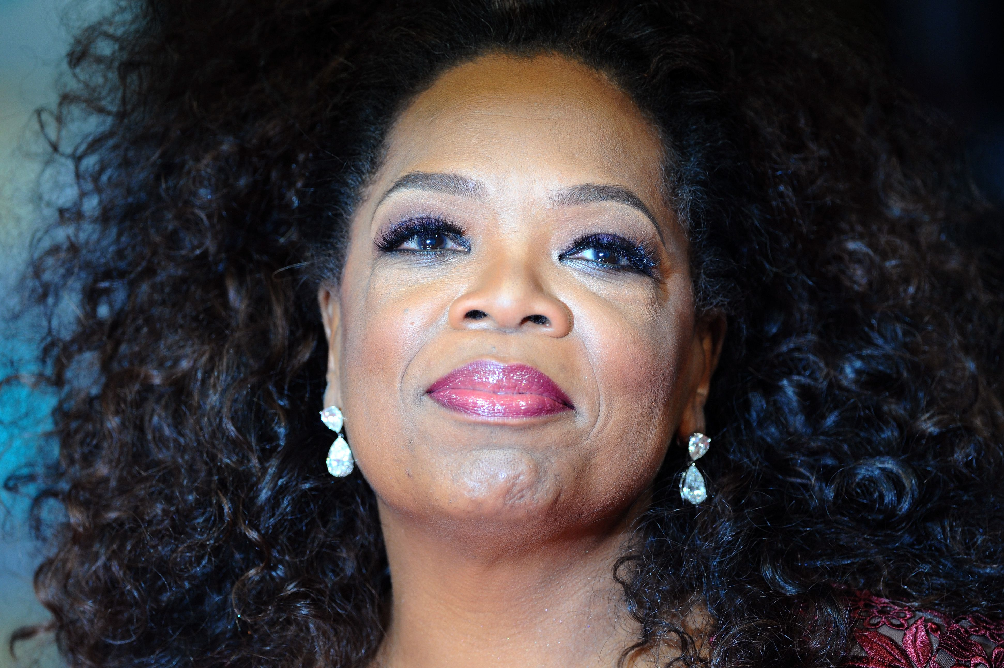 Oprah Winfrey at the EE British Academy Film Awards in 2014 in London | Source: Getty Images