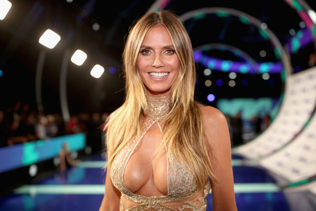 Heidi Klum during the 2017 MTV Music Awards in California. | Photo: Getty Images