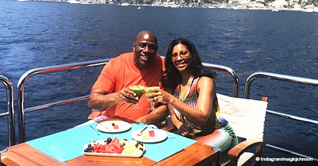 Magic Johnson shares moving tribute to his 'amazing wife' of 27 years in sweet Valentine's Day post