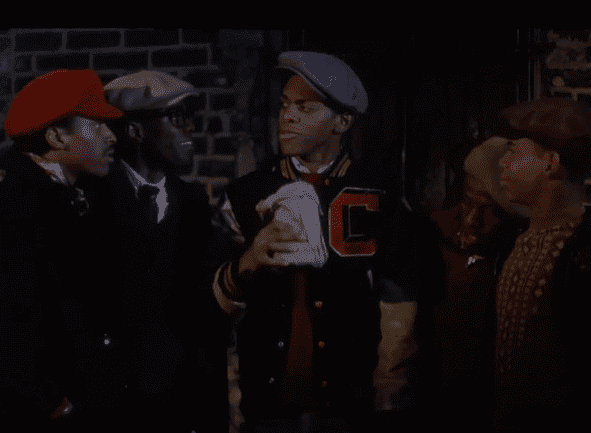 "Robert, Stone, and the rest of their crew in ""Cooley High"" 