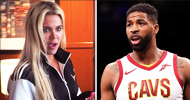 Khloé Kardashian Seems Shocked after Ex Tristan Thompson Gifts Her Pink Diamond Ring in New KUWTK Trailer