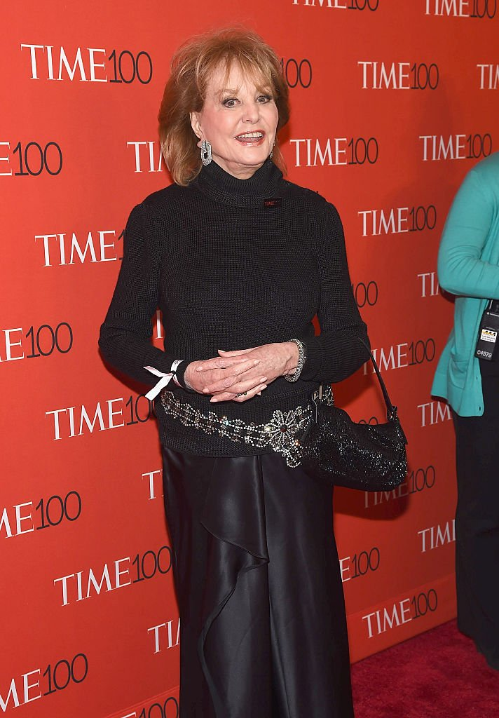 Barbara Walters attends TIME 100 Gala, TIME's 100 Most Influential People In The World at Frederick P. Rose Hall, Jazz at Lincoln Center on April 21, 2015 in New York City.   Source: Getty Images