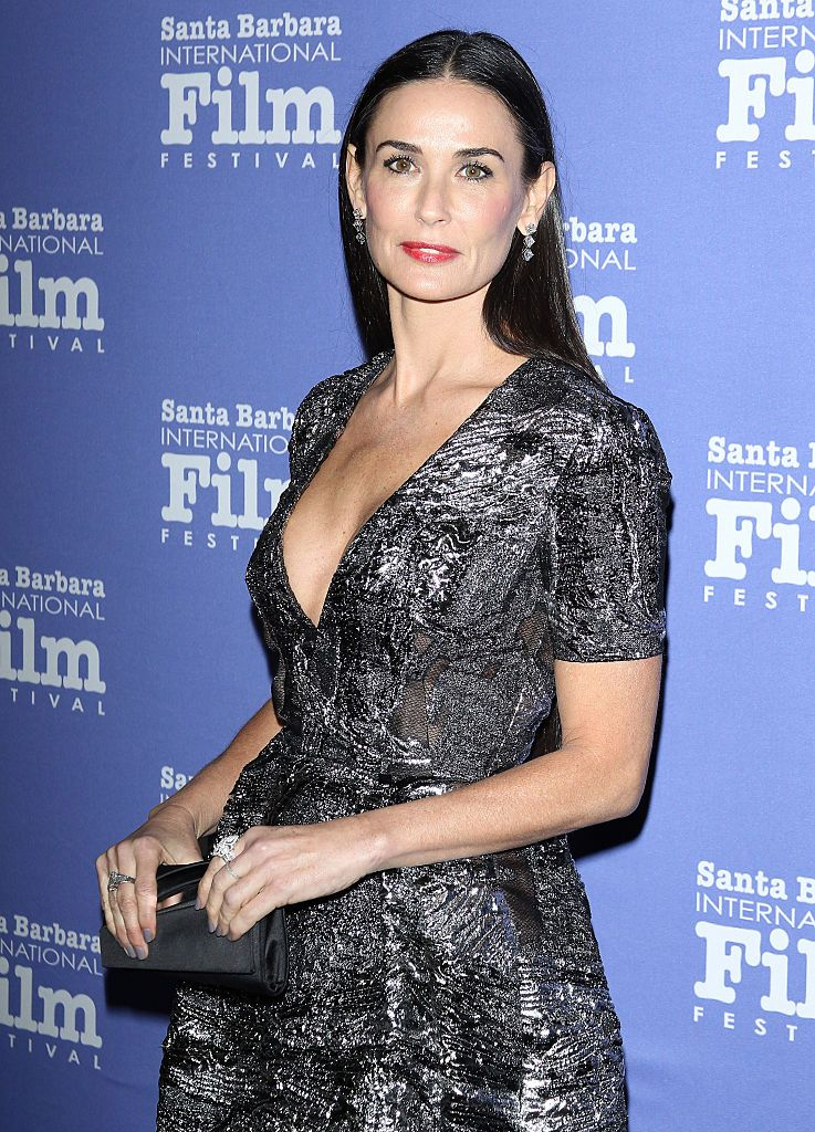 Demi Moore during the Santa Barbara International Film Festival: 9th Annual Kirk Douglas Award for Excellence in Film honoring Jessica Lange held at Bacara Resort on November 16, 2014 in Goleta, California. | Source: Getty Images