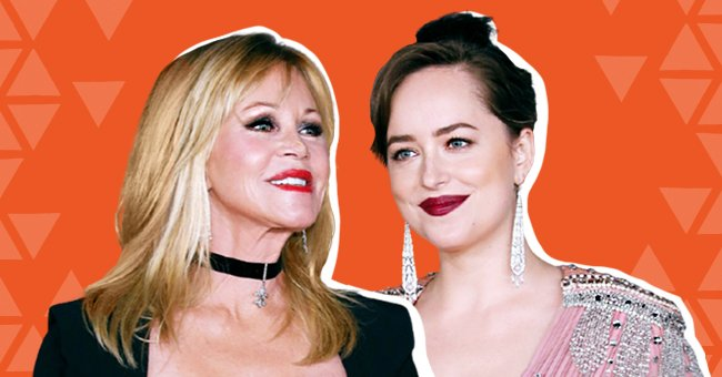Melanie Griffith and Dakota Johnson at the LACMA Art + Film Gala on November 4, 2017, in Los Angeles, California | Photo: Taylor Hill/Getty Images