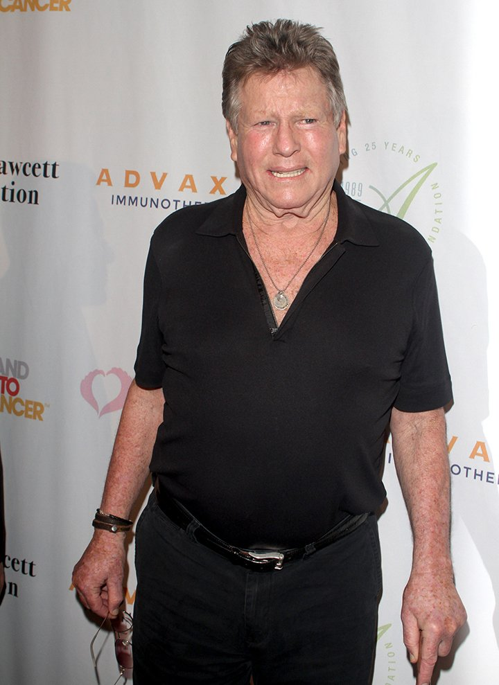 Ryan O'Neal attending the Farrah Fawcett Foundation 1st annual Tex-Mex Fiesta at Wallis Annenberg Center for the Performing Arts  in Beverly Hills, California in September 2015. I Image: Getty Images.