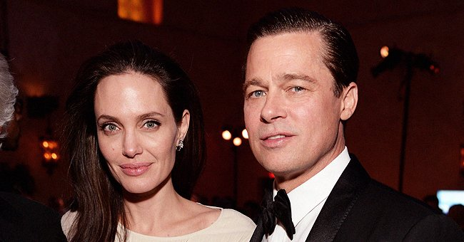 Angelina Jolie and Brad Pitt on November 5, 2015 in Hollywood, California.| Photo: Getty Images