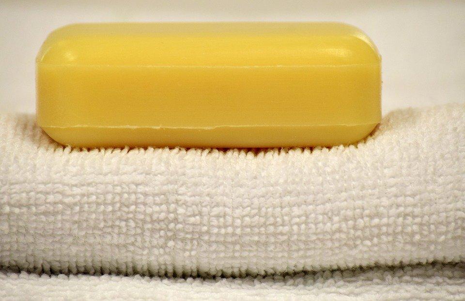 Jabón.   Imagen tomada de: Pixabay
