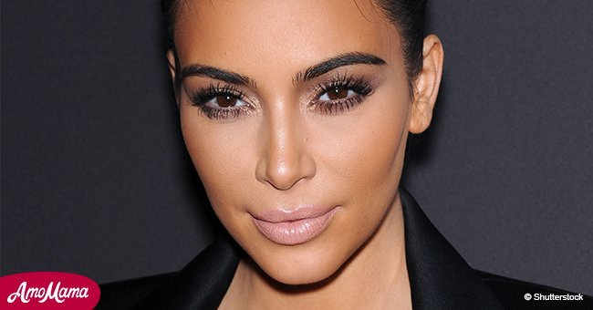 Kim Kardashian models unusual accessory hailing from the past again