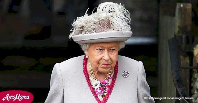 Atuendo navideño de Reina Elizabeth es su más refinado vestido del año
