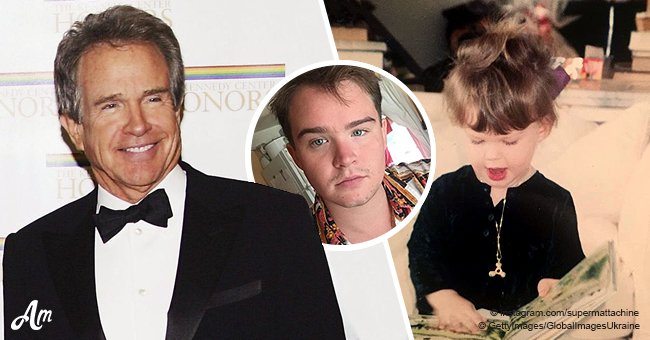 Warren Beatty's son is all grown up and is an activist for the transgender community