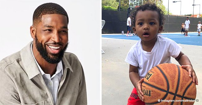 Tristan Thompson shares cute pics to mark son's 2nd birthday after allegedly neglecting the child