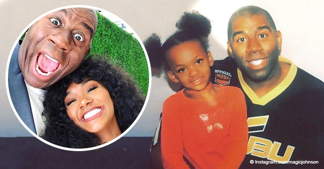 Magic Johnson shares sweet message to daughter on her b-day after she barely escaped home invasion