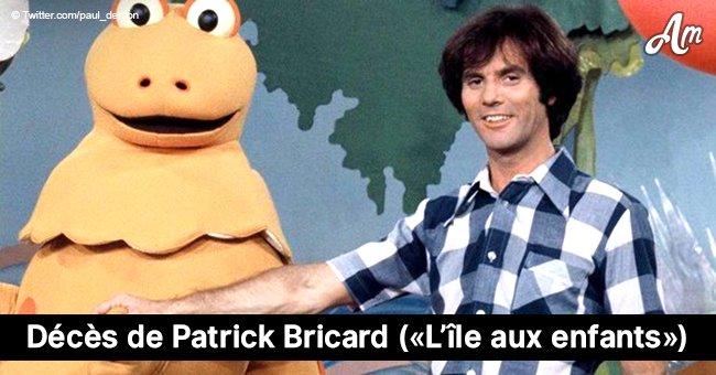 """Patrick Bricard, qui jouait François dans """"L'île aux enfants"""", est décédé à l'âge de 69 ans"""