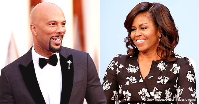 Common Talks Love Advice He Received from Michelle Obama