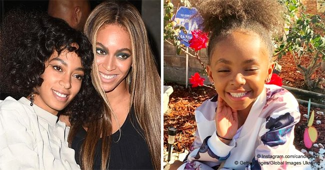 Beyoncé and Solange's 8-year-old sister shows off her natural hair in recent pictures