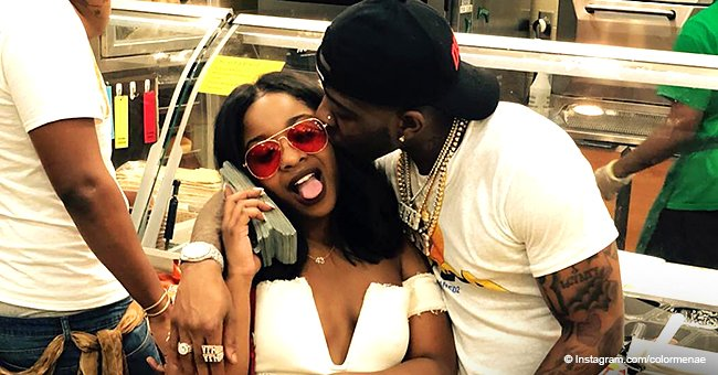 Reginae Carter packs on PDA with YFN Lucci in new pic after deciding to 'cool down a little bit'
