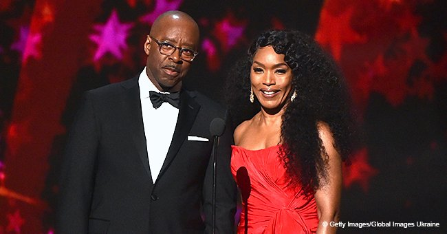 Angela Bassett Steals the Show in Gorgeous Red Dress at Aretha Franklin Grammy Tribute Concert