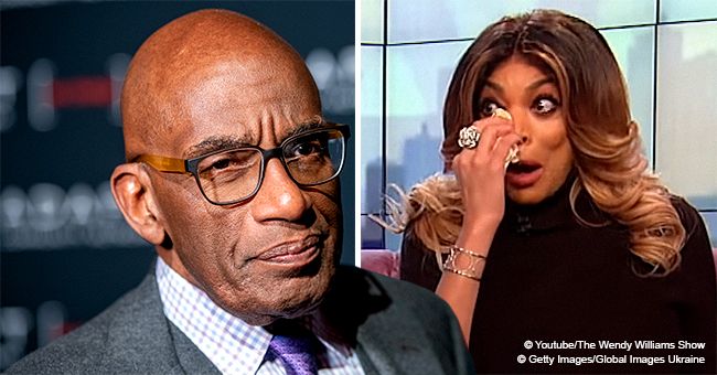 Al Roker Sends Emotional Message to Wendy Williams after Confessing She's Been Living in Sober Home
