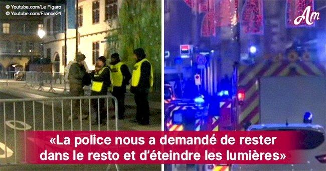 """Témoin des fusillades à Strasbourg : """"La police nous a demandé de rester au restaurant et d'éteindre les lumières"""""""