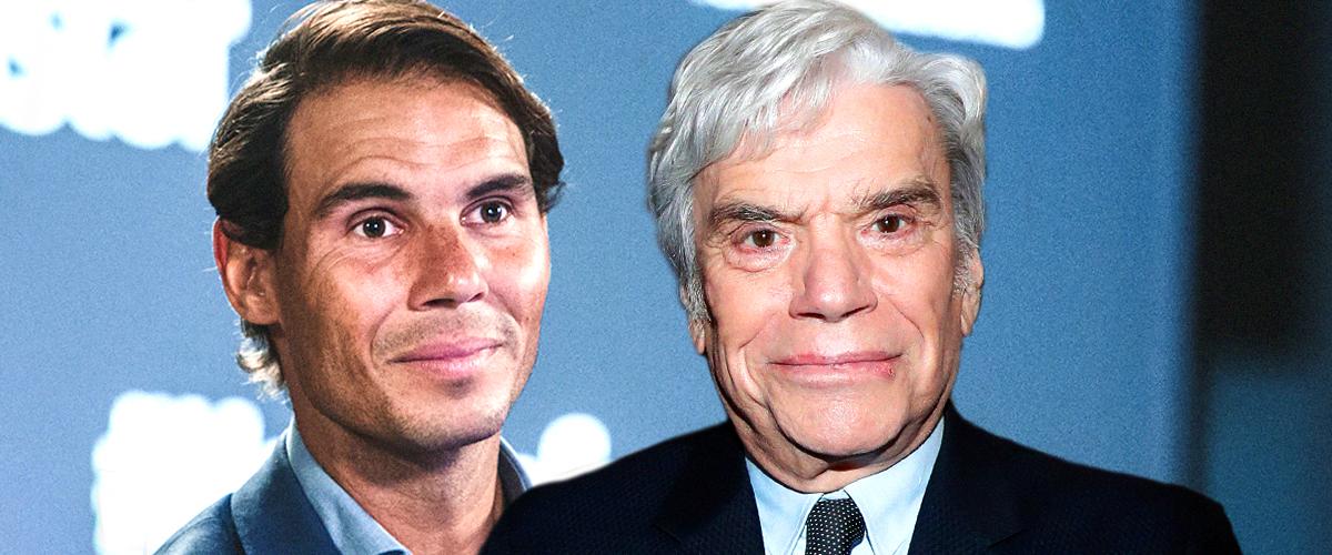 Bernard Tapie souffre d'un cancer : Un soutien inattendu de Rafael Nadal (Vidéo)
