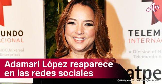 Adamari López hace una aparición muy esperada en las redes sociales con un tierno mensaje