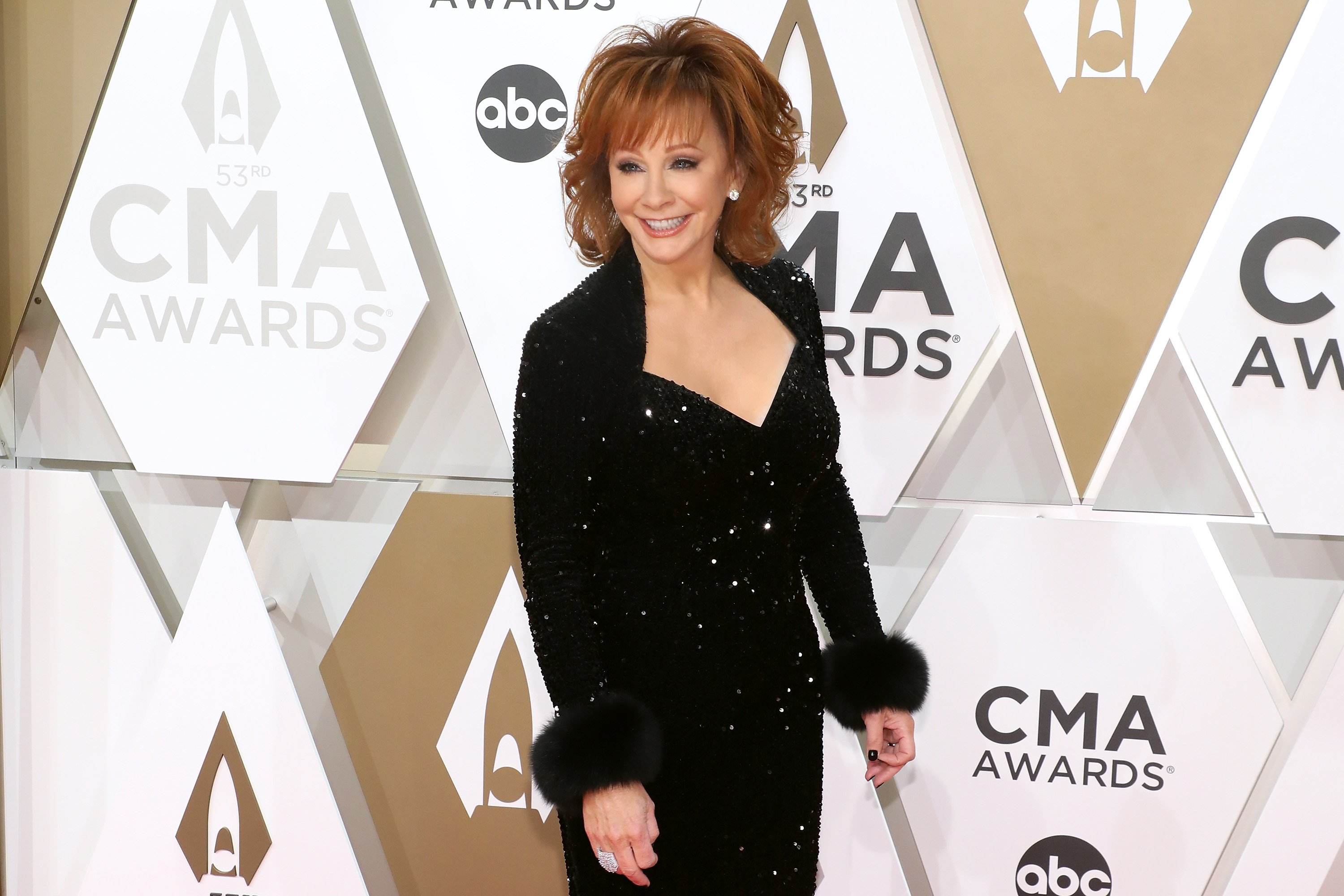 Reba McEntire at the 2019 CMA Awards hosted in Nashville, Tennessee. Photo: Getty Images