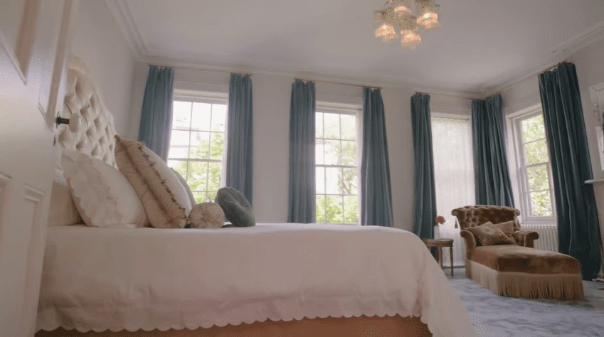 The master bedroom | Source: YouTube/Architectural Digest