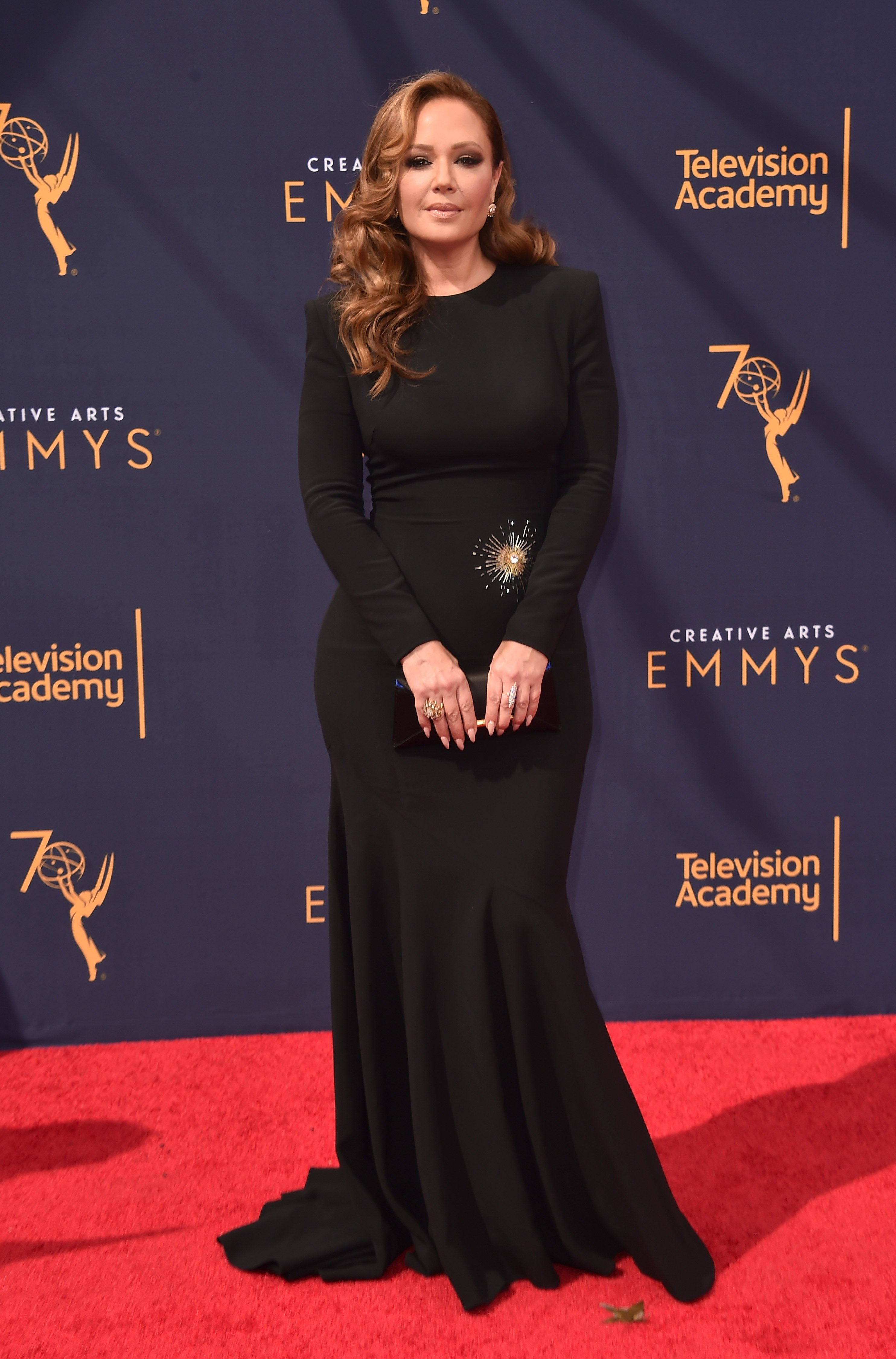 Leah Remini attends the 2018 Creative Arts Emmys Day 2 at Microsoft Theater on September 9, 2018 in Los Angeles, California.  | Photo: GettyImages