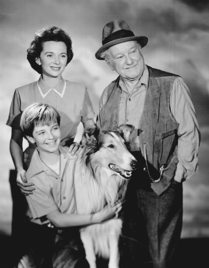 Jan Clayton, George Cleveland, and Tommy Rettig, circa 1950s | Photo: Wikimedia Commons