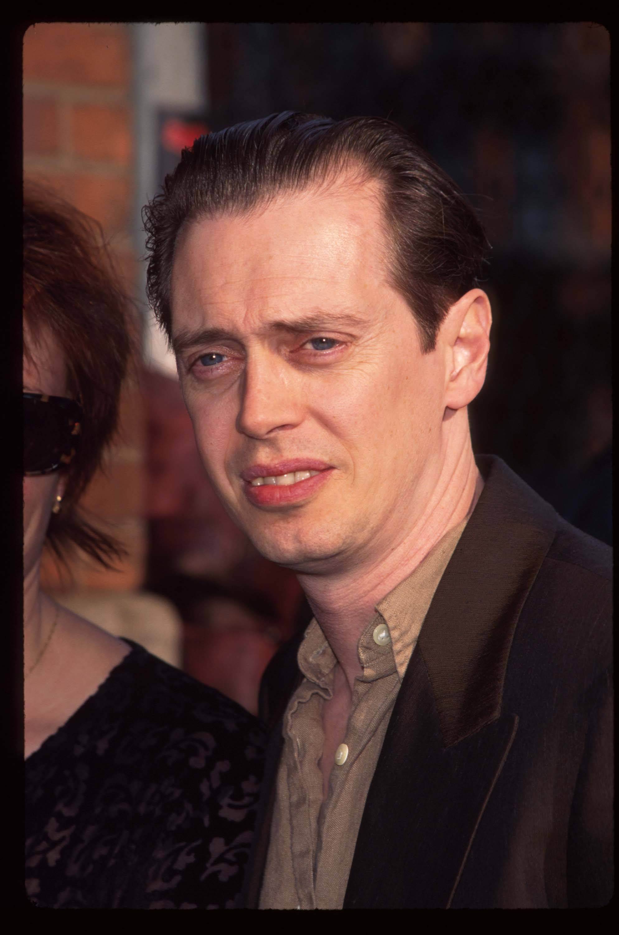 """Steve Buscemi attends the special screening of the film """"Dead Man"""" at the Tribeca Film Center May 5, 1996 in New York City. 