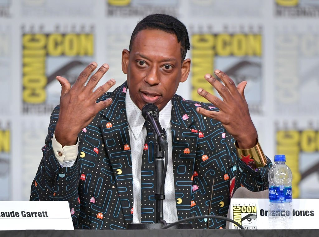 "Orlando Jones speaks at SYFY WIRE's ""It Came From The 90s"" during 2019 Comic-Con International at San Diego Convention Center 