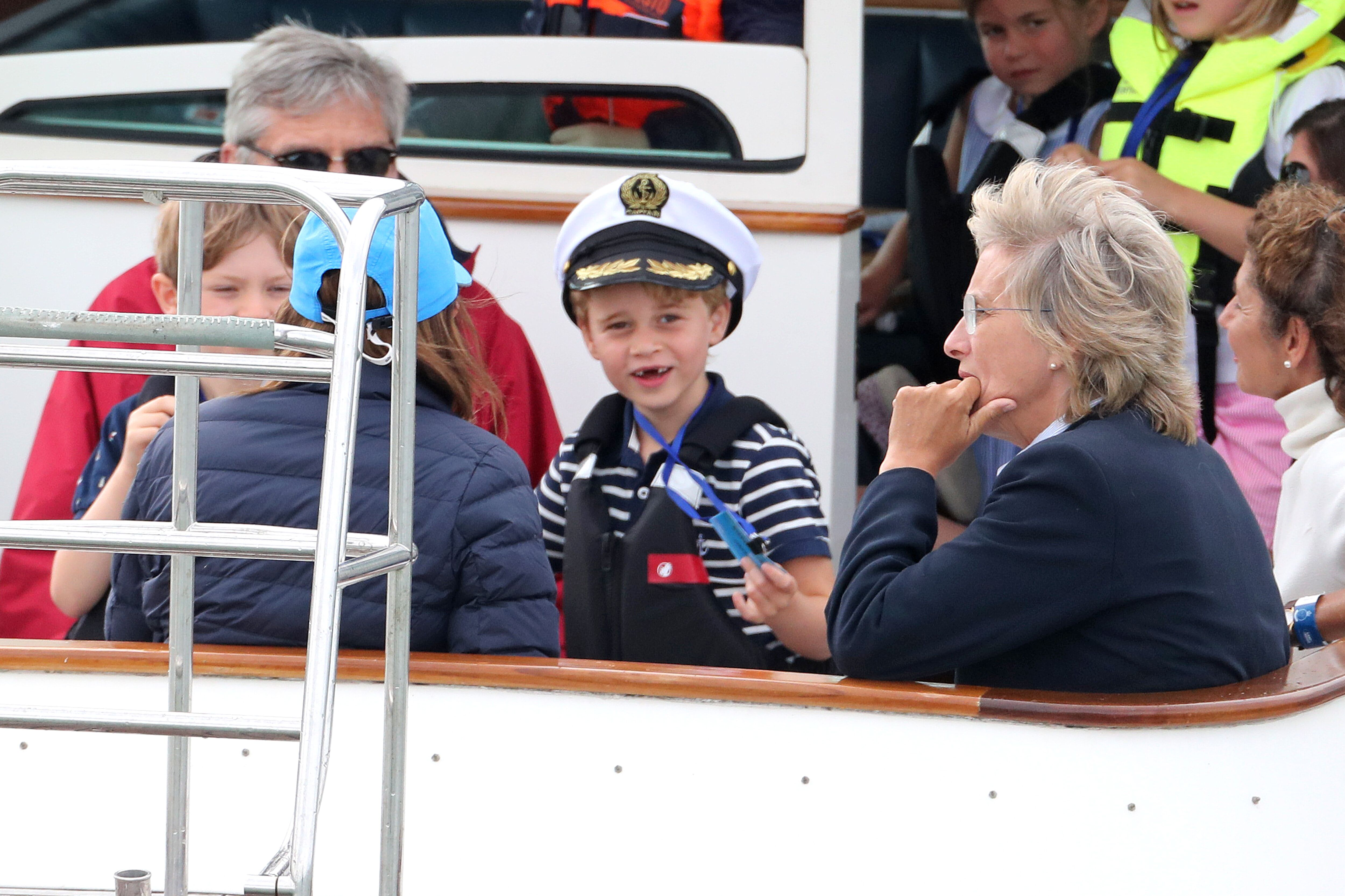 Prince George at the King's Cup charity race. | Source: Getty Images