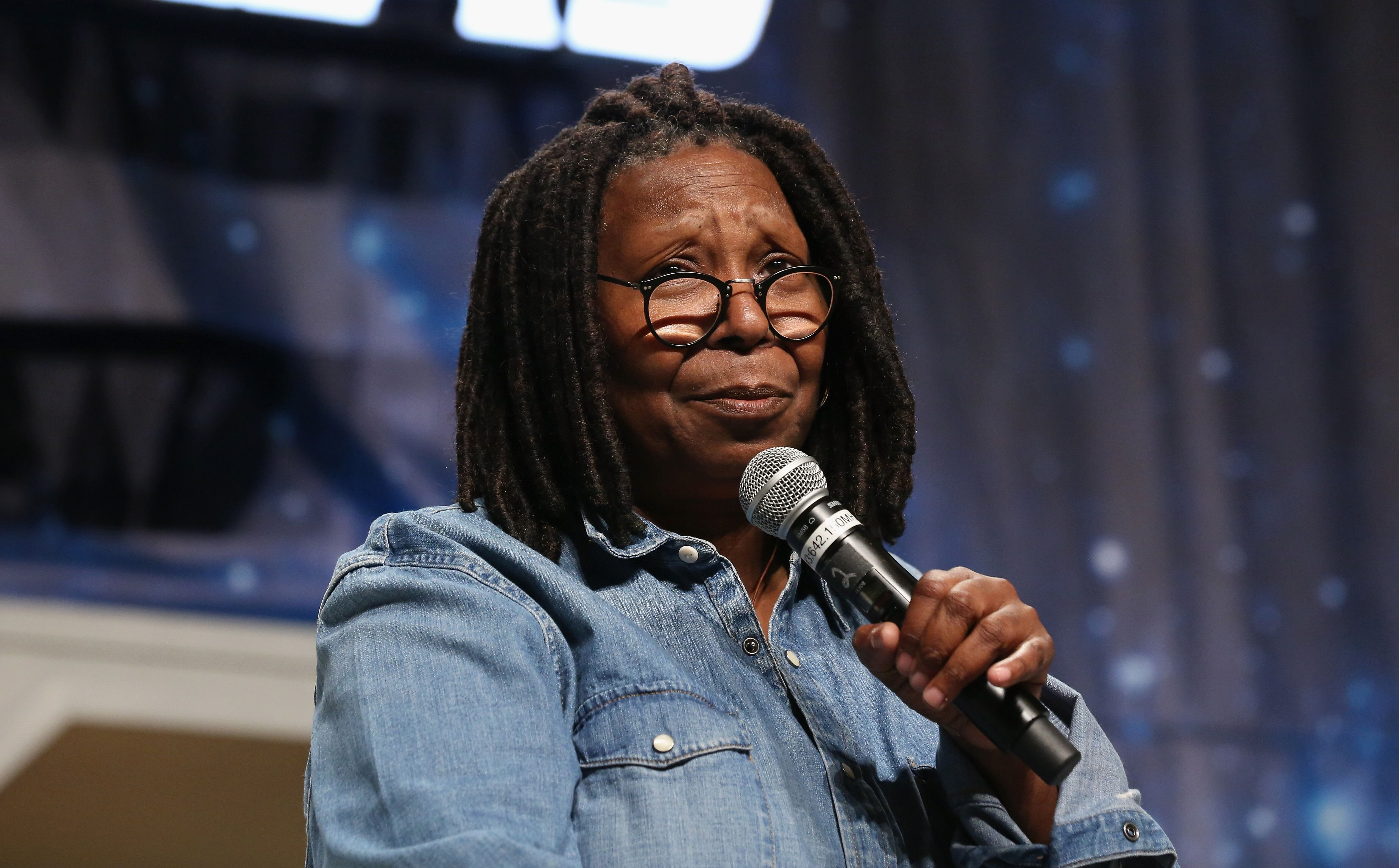 Whoopi Goldberg at the 15th annual official Star Trek convention on Aug. 4, 2016 in Las Vegas | Source: Getty Images