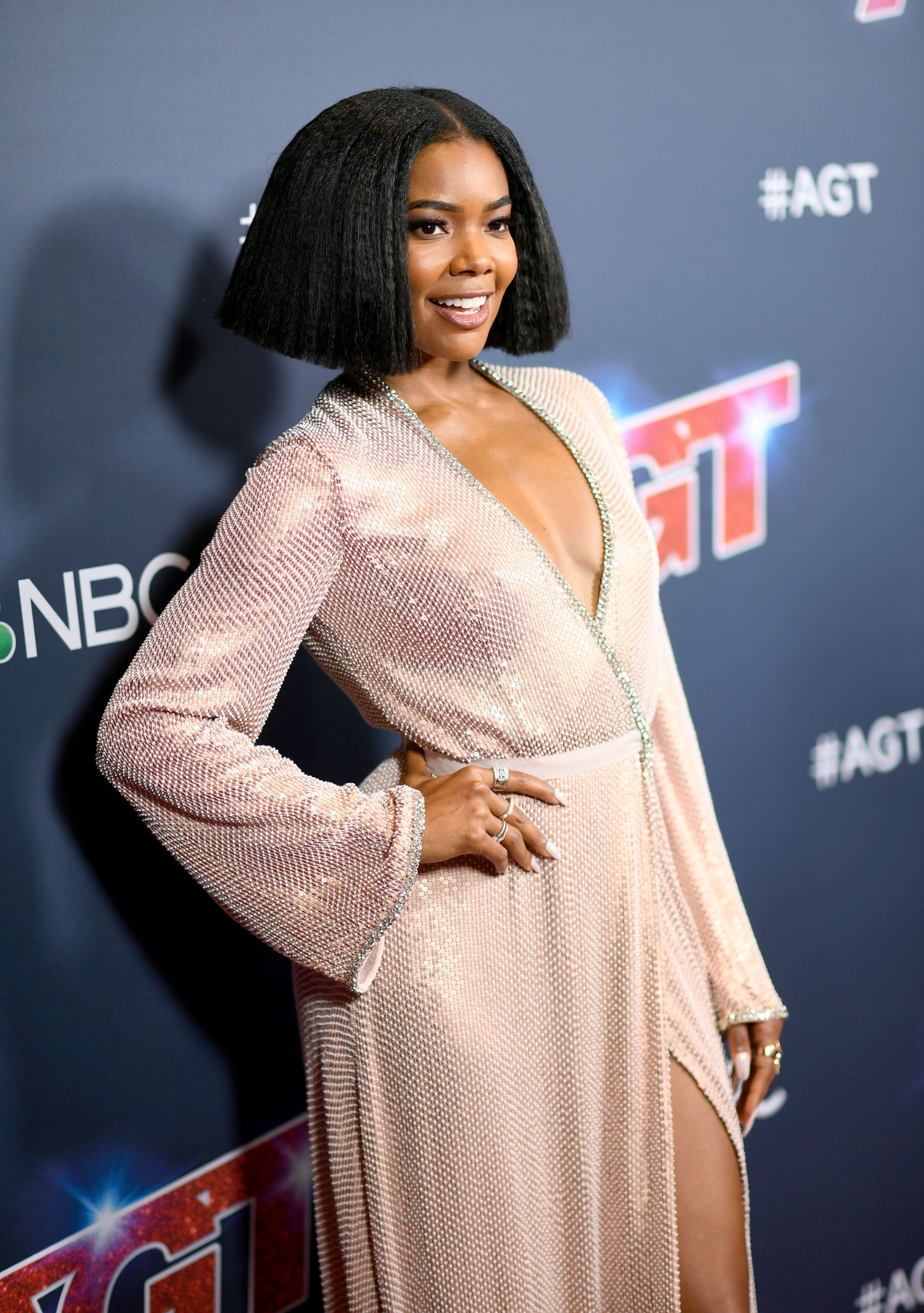 """Gabrielle Union at """"America's Got Talent"""" on September 18, 2019, in California.   Photo: Getty Images"""