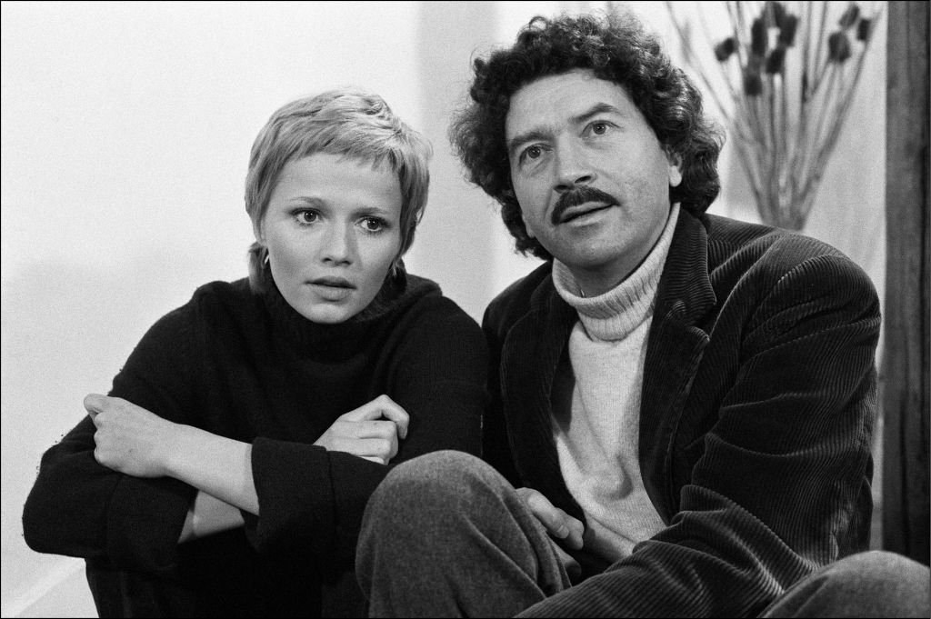 Catherine Jourdain et Alain Robbe-Grillet | photo : Getty images