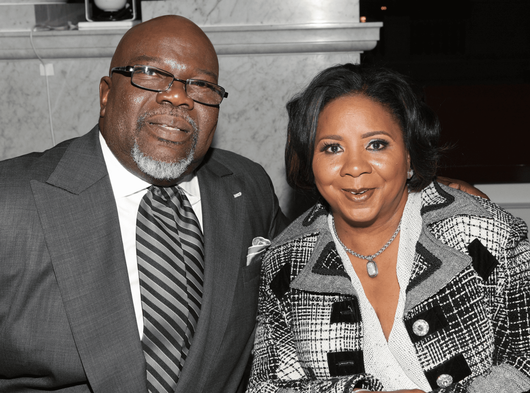 Bishop T. D. Jakes and his wife Serita Jakes at the BET Honors 2013 at The Library of Congress on January 11, 2013    Photo: Getty Images