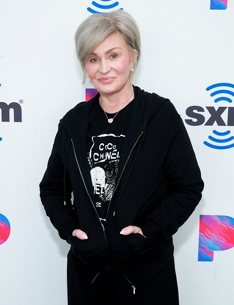 Sharon Osbourne at the SiriusXM Hollywood Studio on February 27, 2020 in Los Angeles, California. | Photo: Getty Images