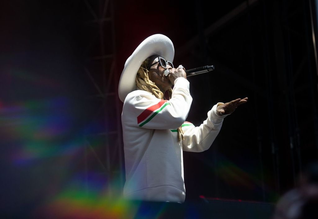 Lil Wayne performs at the 2019 Governors Ball Festival in May 2019 | Photo: Getty Images