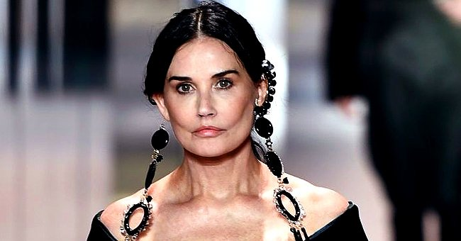 Demi Moore Looks Unrecognizable in a Hydrating Face Mask after Sparking Plastic Surgery Rumors