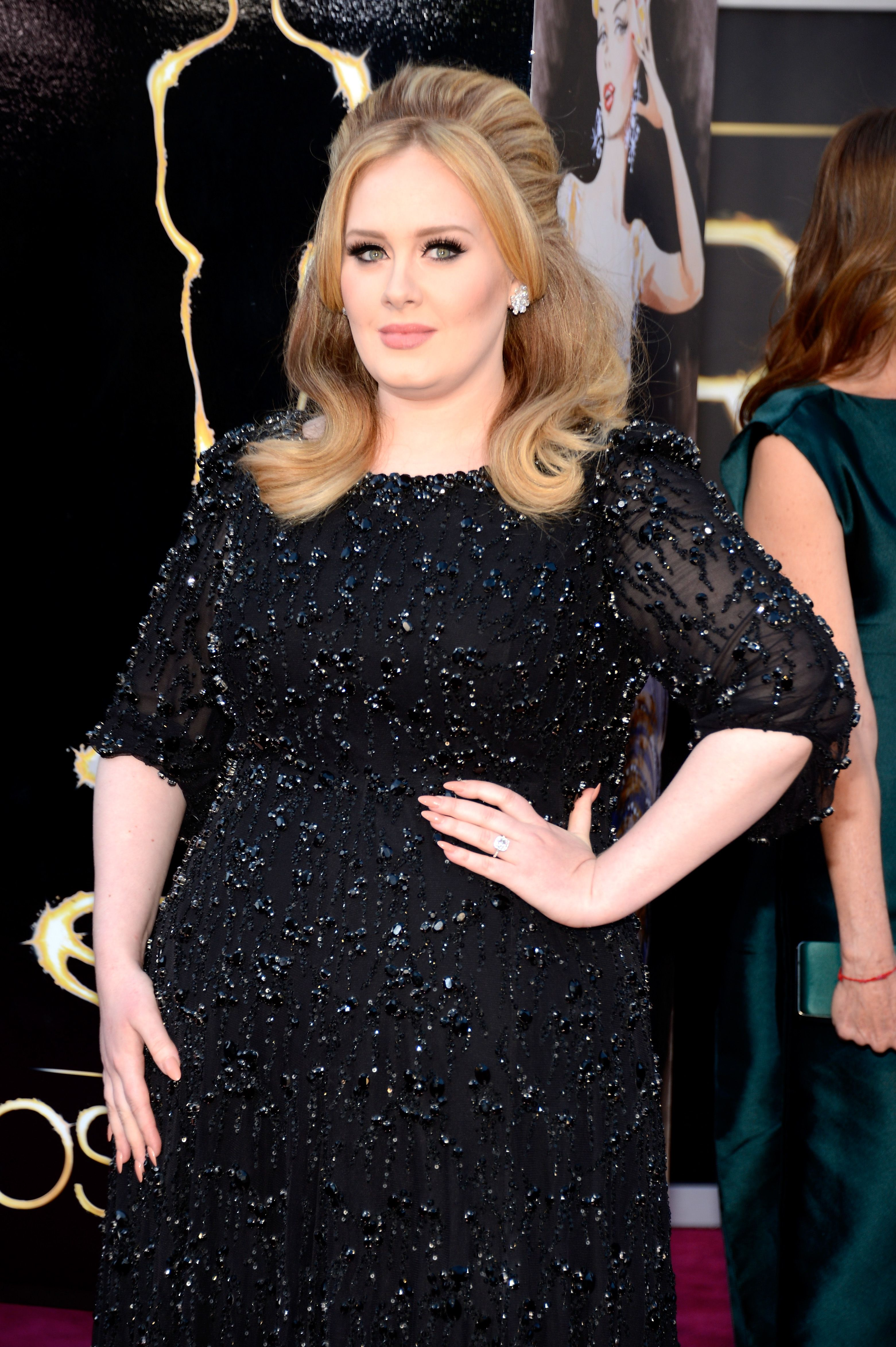 Singer Adele at the Oscars held at Hollywood & Highland Center in Hollywood, California | Photo: Kevin Mazur/WireImage via Getty Images
