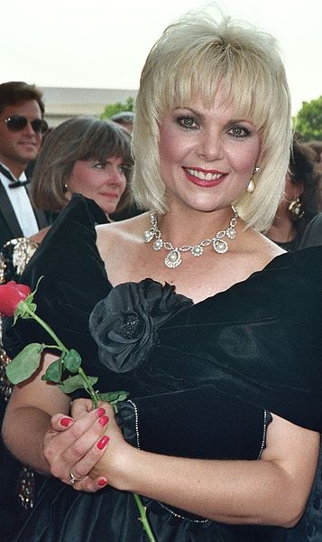 Ann Jillian at the 1988 Emmy Awards. | Source: Wikimedia Commons