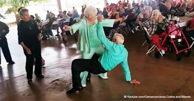 Anciana pareja convertidos en ciberestrellas por apasionado baile con canción de Daddy Yankee