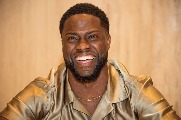 "Kevin Hart at the ""Jumanji: Next Level"" Press Conference in Cabo San Lucas, Mexico.